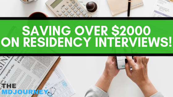 Saving Money on Residency Interviews