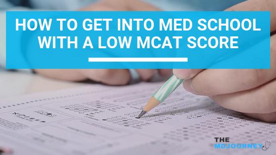 Get into med school with low MCAT score