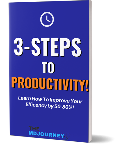 3 Steps To Productivity Cover Mockup