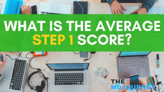 Average Step 1 Score