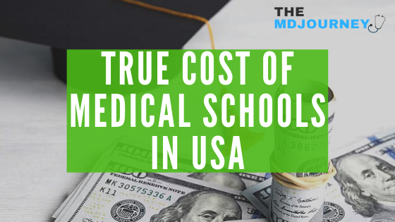 Cost of medical schools in usa
