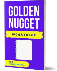 Golden Nugget Worksheet - TheMDJourney.com