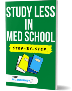Study Less in Med School Step-By-Step Compressed