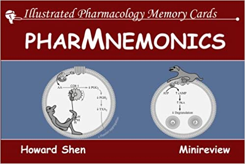 flashcards for pharmacology illustrated pharmacology memory cards