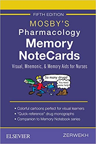 flashcards for pharmacology mosby's pharmacology memory cards