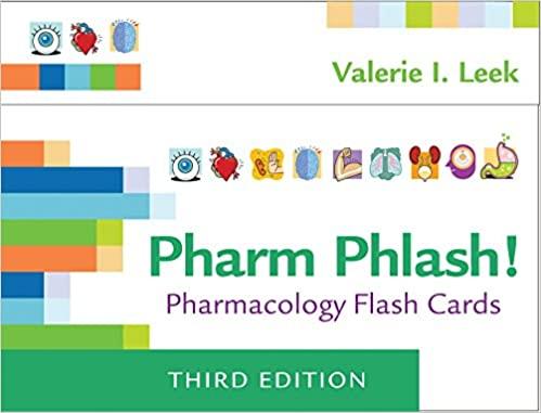pharm phlash cards