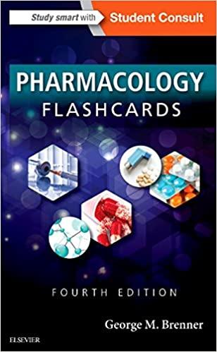 pharmacology flashcards george brenner