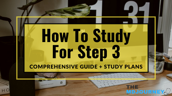 how to study for step 3