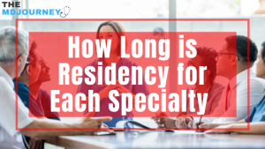 how long is residency for each specialty