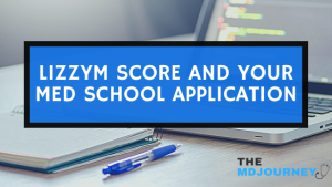 LizzyM Score and your med school application
