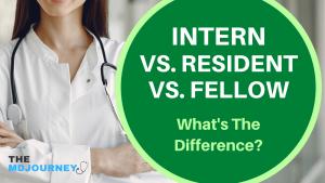 Intern vs resident vs fellow