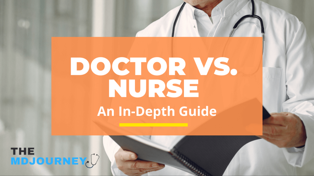 doctor vs nurse
